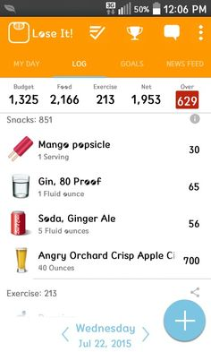 820 Reasons why you can't drink and lose weight.