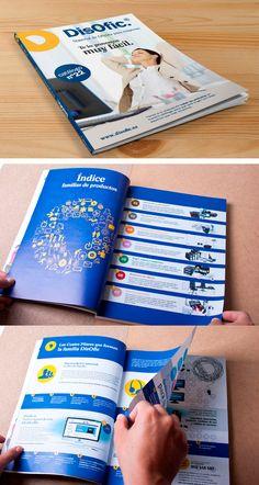12789df8ec Plan D Soluciones creativas » DisOfic. Material de oficina para empresas.  Diseño de catálogo de productos. Año 2013