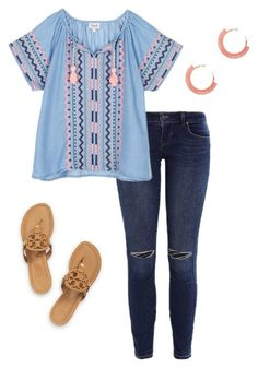 """Untitled #131"" by birdie-hall on Polyvore featuring Tory Burch and Jardin"