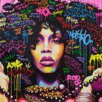 "796 Likes, 8 Comments - Noe Two (@noetwo) on Instagram: ""NOE TWO /URBAN ART FAIR 2017 #dotherightthing #urbanartfair2017 #galeriebartoux @lesgaleriesbartoux…"""