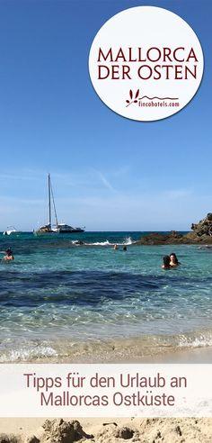 Mallorca - der Osten. Urlaub an der Ostküste Mallorcas bietet vor allem eins: eine große Anzahl romantischer Badebuchten, glasklares Wasser und eine beeindruckende Unterwasserwelt. Aber auch romantische Städte wie Artà oder Sehenswürdigkeiten wie die Coves del Drac sollten bei einem Urlaub an der Ostküste Mallorcas ganz oben auf der To-do-Liste stehen.