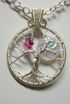 Sterling Silver Shimmering Moon with a by Mariesinspiredwire, $55.00