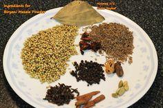 biryani masala powder recipe, how to make homemade biryani masala powder - Swasthi's Recipes