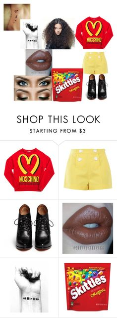 """""""Promise Rova (Glee)"""" by cutegurl112 ❤ liked on Polyvore featuring Moschino, Boutique Moschino and Givenchy"""