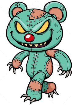 Buy Evil Teddy Bear by SARAROOM on GraphicRiver. Vector illustration of Cartoon Evil teddy bear Graffiti Doodles, Graffiti Cartoons, Graffiti Characters, Graffiti Drawing, Graffiti Lettering, Cool Art Drawings, Graffiti Art, Cartoon Drawings, Cartoon Art