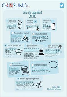 Los niños y el internet - Enconsumo #guía #seguridadeninternet