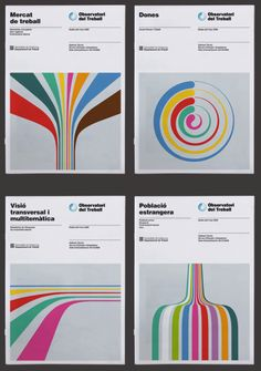 Posters designed by Hey Studio, Barcelona
