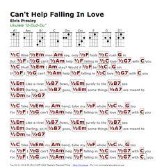 Can't Help Falling In Love (Elvis Presley) - http://myuke.ca