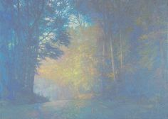 Road in the Alleghenies 39 x 54 inches, oil on canvasOn Nature's Terms: Paintings of Thomas Paquettte