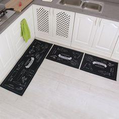 Carvapet 3 Piece Non-Slip Kitchen Mat Rubber Backing Doormat Runner Rug Set | Home & Garden, Rugs & Carpets, Door Mats & Floor Mats | eBay!