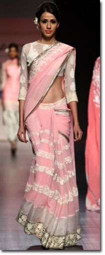 Manish Malhotra Sarees - Fashion Week 6
