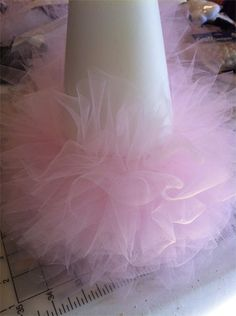 tulle Christmas tree diy This one is made the way I remember it ...