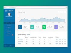 Dashboard by Indicius