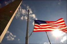 When should flags fly at half-staff? American Flag Etiquette, Half Mast, Old Glory, Our Country, Armed Forces, Flags, Trips, Backyard, Outdoor Decor