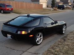 Porsche 928 -  I've never been a huge Porsche/911 fan, but I've always had a soft-spot for these, but I think, they are finally starting to get the recognition they deserve....K