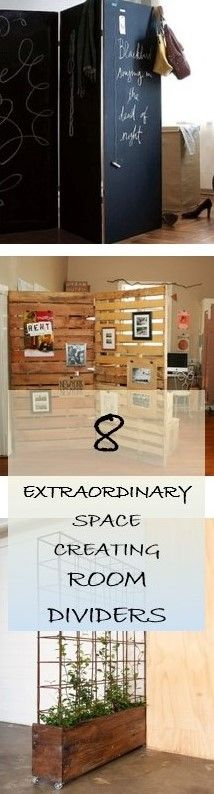 33 Trendy Ideas Diy Decorations for Home Bedroom Room Dividers Diy Room Divider, Room Dividers, Diy Projects To Try, Home Projects, Wooden Crafts, Diy Crafts, Affordable Home Decor, Do It Yourself Home, Decorating Tips