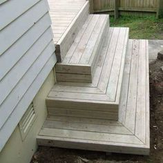 best deck stair designAll images / content are copyright Deckreation 2011