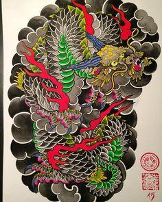 #jankurze #janfuerimmer #dragonsleeve #berlintattoo #tattoolifemagazine…