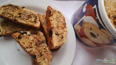 Cantuccini Banana Bread, Healthy Snacks, French Toast, Muffin, Breakfast, Food, Healthy Snack Foods, Muffins, Health Snacks