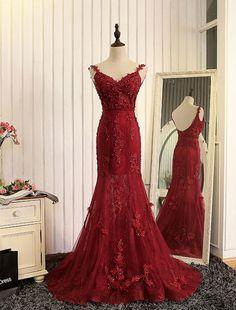 Meerjungfrau Abendkleid 2017 Abelle