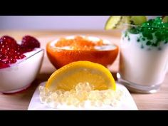This instructable explains the basics of fruits spherification.It gives example of desserts with orange, lemon, raspberry and kiwi.For your first try I recommend a...