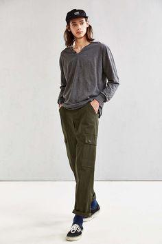 Katin Folk Henley Long Sleeve Tee - Urban Outfitters