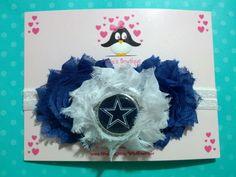 Dallas Cowboys headband, football headband, baby headband, infant headband, toddler headband