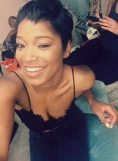 Keke Palmer-The actress recently celebrated her 21st birthday and we're digging her new mature look already!
