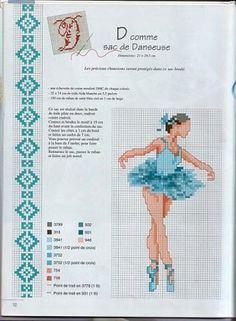 bailarinas de ballet en punto de cruz - Buscar con Google