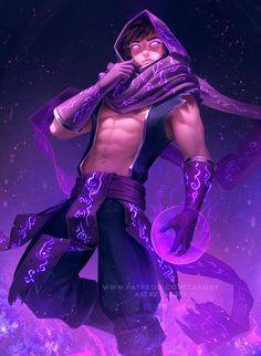 Zarory Malzahar - League of Legends Fantasy Character Design, Character Design Inspiration, Character Concept, Character Art, League Of Legends Characters, Dnd Characters, Fantasy Characters, Dark Fantasy Art, Fantasy Artwork