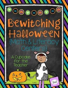 """Have a *Bewitching Halloween* with thIs fun and engaging October activity from my <a href=""""http://www.teacherspayteachers.com/Product/bewitching-halloween-math-literacy-centers-874866"""">Bewitching Halloween {Math & Literacy Centers</a> pack!  Grab it for free while it lasts… only through October 8th!  If you like this center, please check out the rest of the pack in my <a href=""""http://www.teacherspayteachers.com/Product/bewitching-halloween-math-literacy-centers-874866"""">shop</a>!  Included…"""