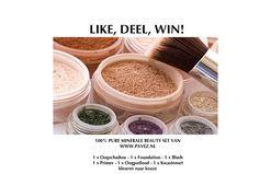 De Minerale Make Up: cosmetica set voor U! Brenda • 13 januari 2013Winacties 0
