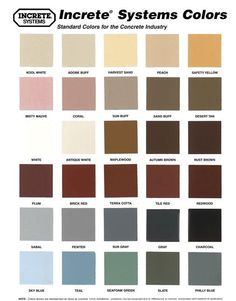 Decorative Concrete Ltd Stamped Colors Stain Deck