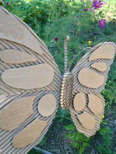 Items op Etsy die op Cardboard Butterfly Wall Hanging / Nursery or Girls' Room Decor lijken