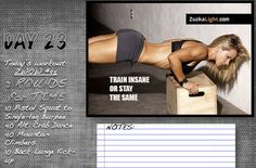 Will you train insane? Or remain the same?! Do this #workout #challenge now and tell me how you did!