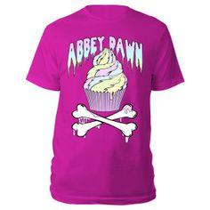 Abbey Dawn Bright Psychadelic Cupcake Tee