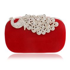 Find More Evening Bags Information about New peacock brand design diamonds women bags velvet small purse holder bags rhinestone clutch evening bag for wedding B756,High Quality Evening Bags from The Sunny Day on Aliexpress.com