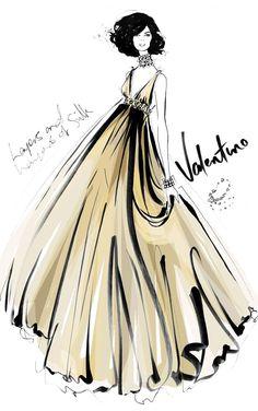gorgeous fashion illustration