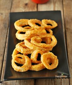 Baked Onion Rings (Gluten Free) | Gluten Free and Vegan Recipes by Michelle Blackwood