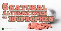 Ibuprofen is linked to things like heart disease, circulatory problems, and gastrointestinal conditions. Fears have also been raised with regard to bleeding and/or perforation of the gut and the intestinal tract  - time to find a natural alternative to ibuprofen