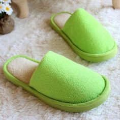 Winter Coral Velvet Home Shoes Soft Keep Warm Slippers - Gchoic.com