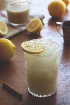 Coconut Chai Lemonade | This lemonade seriously hit the spot last weekend after an epic day of yard work. @HonestlyYUM