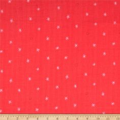 This ultra soft double gauze fabric is perfect to use for blankets, baby items, dresses, skirts, quilting and more. It features 2 layers of very thin gauze fabrics fused together, to create a super soft, full bodied fabric. Designed for Cotton + Steel, colors include coral red and pink.