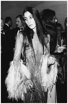 Cher 1974 - Photo Ron Galella