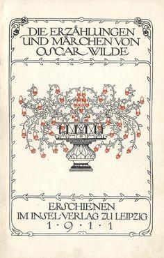 """design-is-fine: """" Heinrich Vogeler, drawings for Oscar Wilde's Fairy Tales, Insel Verlag, Leipzig, Germany. Via fulltable """" Paula Modersohn Becker, Max Ernst, Hermann Hesse, Oscar Wilde, Book Cover Design, Book Design, Design Art, Graphic Design, Heinrich Vogeler"""