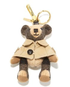 Thomas Trench Teddy Bear Charm for Handbag, Camel by Burberry at Neiman  Marcus. Burberry b36538731a