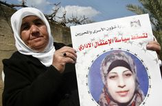 Badia al-Shalabi, mother of hunger striking Hana al-Shalabi (photo by Ayman Nobani