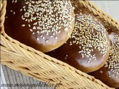 Bułeczki hamburgerowe (Hamburger buns)