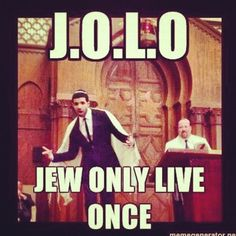 #JEWISH (I usually don't hash tag... But I felt this required one.)