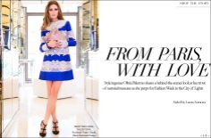 Resort'14 Olivia Palermo | The Issue | The Editorialist